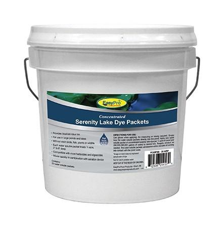 EasyPro PD20PSB Concentrated Serenity Blue Pond Dye Dry WSP 20 pack Pail