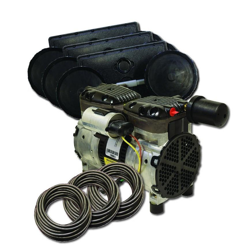 EasyPro PA66W Rocking Piston Pond Aeration System, 1/2 HP, 115V Kit w/Quick Sink Tubing