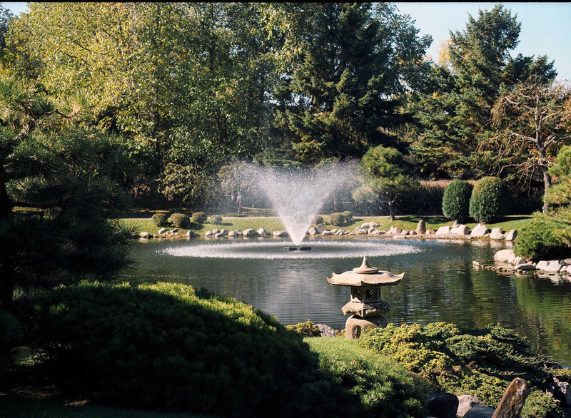 Kasco Marine 5.3JF150 5.3JF J Series Decorative Fountain 5 HP, w/Float, CF-3235 Controller, 150ft Cord