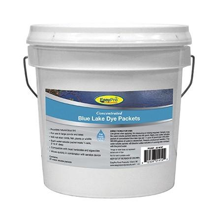 EasyPro PD20P Concentrated Blue Pond Dye Dry WSP 20 pack Pail