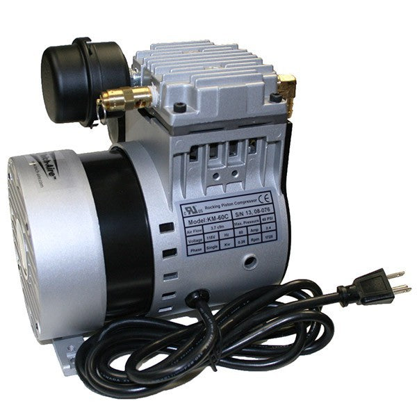 Kasco Marine RA2-PM-RM Robust-Aire Diffused Aeration 2, 120V, 1/4hp, Post Mount, Remote Manifold
