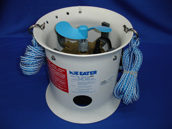 THE POWER HOUSE P1000-25-230V Ice Eater P1000 Cord: 25' For Large Boats & Marinas 1 HP 230V 1 Phase 50/60 Cycle