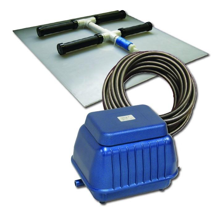 EasyPro PA6SW Shallow Water Aeration kits Linear compressor with single diffuser