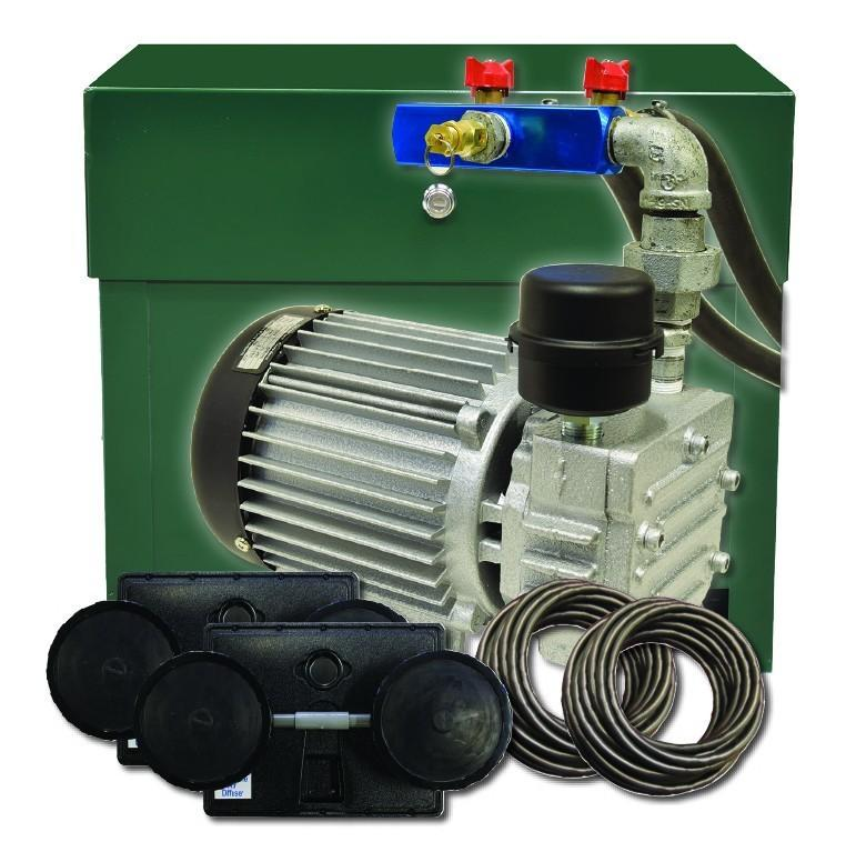 EasyPro PA55D2 Sentinel Deluxe Aeration System, Complete Stratus PA55W system with cabinet