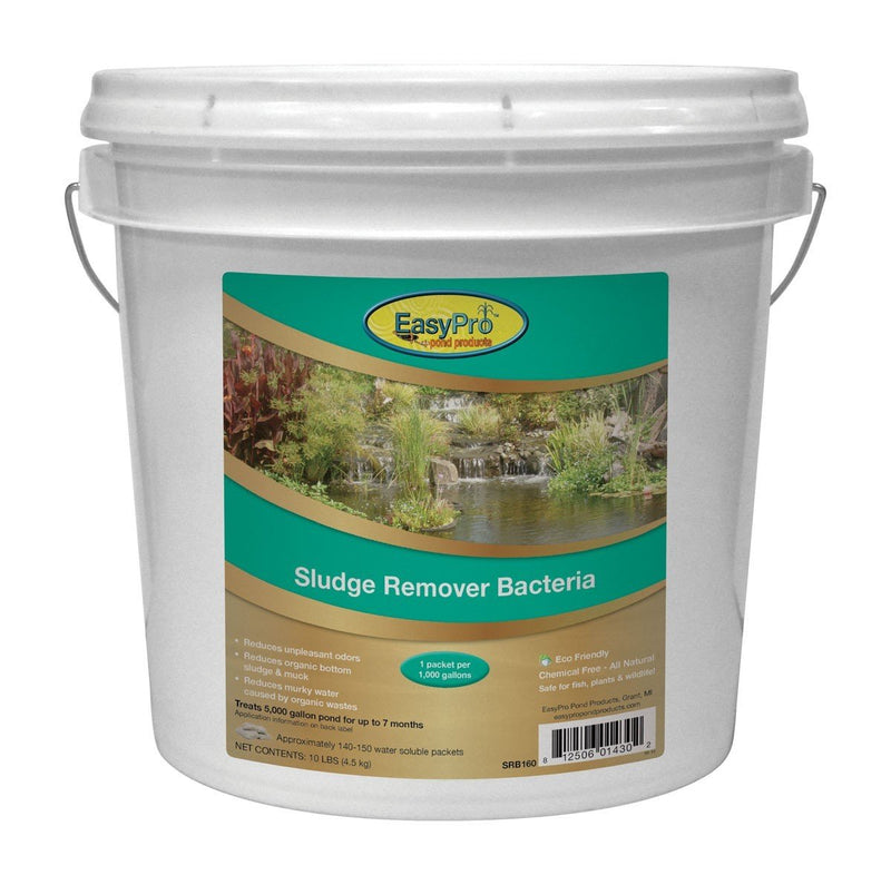 EasyPro SRB160 Sludge Remover Bacteria 10 lb. pail 1 oz. WSP Approx. 140-150 packets