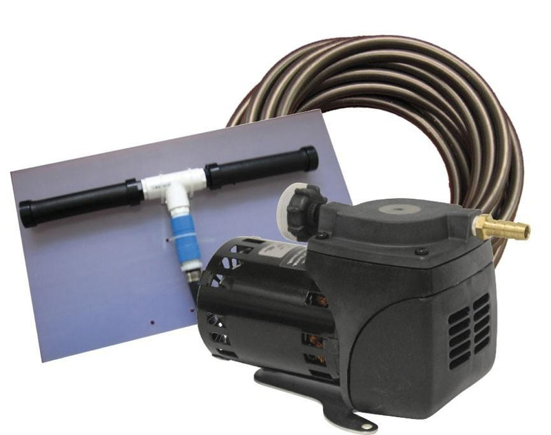 EasyPro PA10W Pond Aeration System 1/20 HP Kit w/Quick Sink Tubing