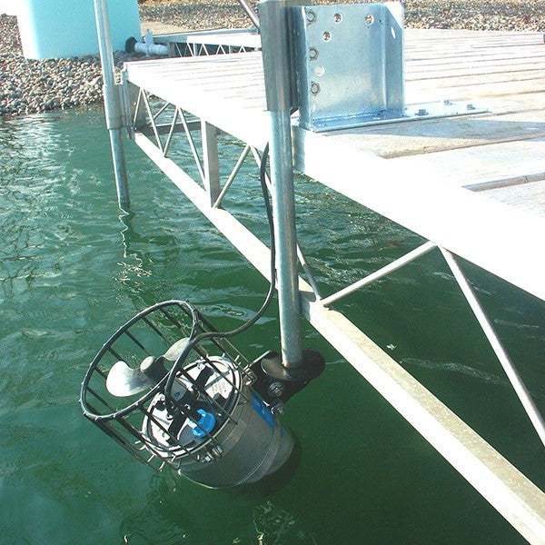 Kasco Marine 4400HCUD200 4400H Circulator Mixer 1 HP w/Dock Mount, 200ft Cord