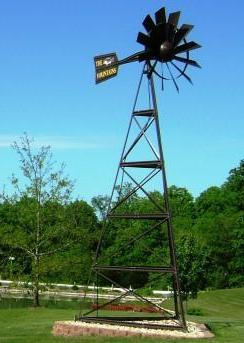 Outdoor Water Solutions PCW0021 20' Bronze Powder Coated Windmill Includes basic accessories