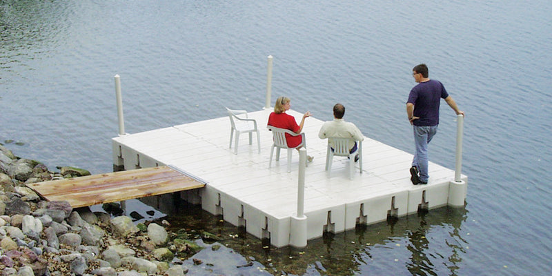 Outdoor Water Solutions DOK0265 Connect a Dock, 12' x 8' Dock High Profile Model 2014)