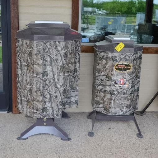 Texas Avenger Automated Fish Feeder 250lb capacity