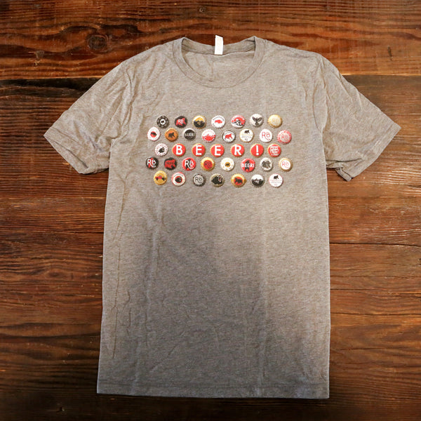 Unisex Bottle Cap T-Shirt