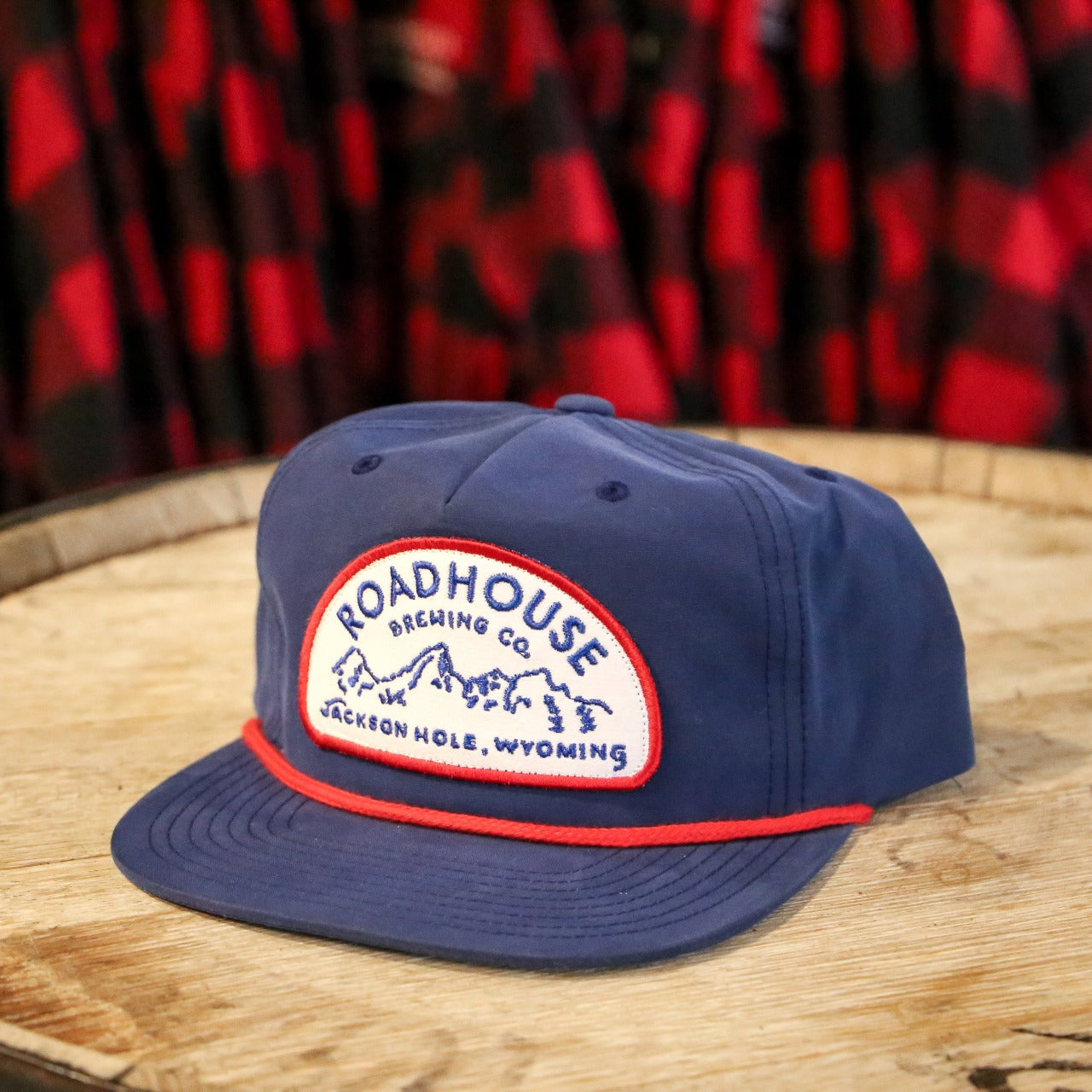Roadhouse Gramps Patch Hat - Navy