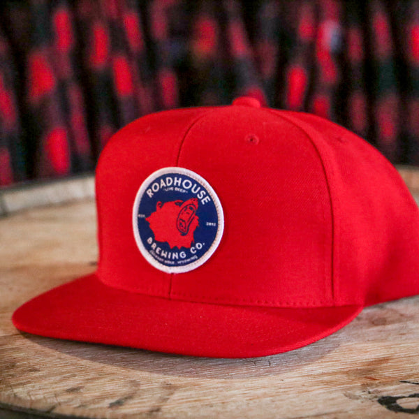 Red Patch Hat