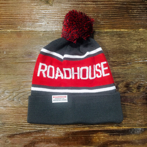 Roadhouse Brewing Co. Pom Beanie
