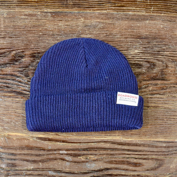 Roadhouse Knit Beanie - Navy