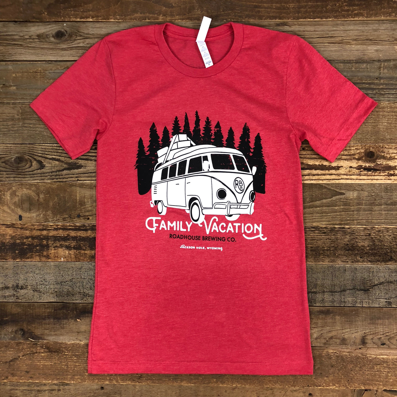 UNISEX The Family Vacation Tee - Red