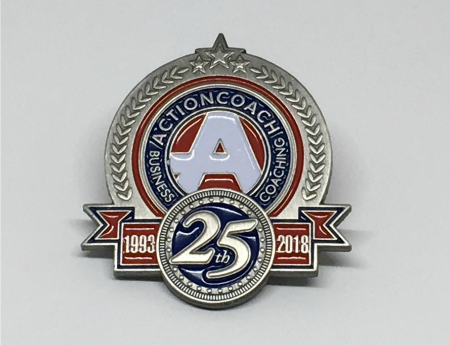 25th Anniversary Pin
