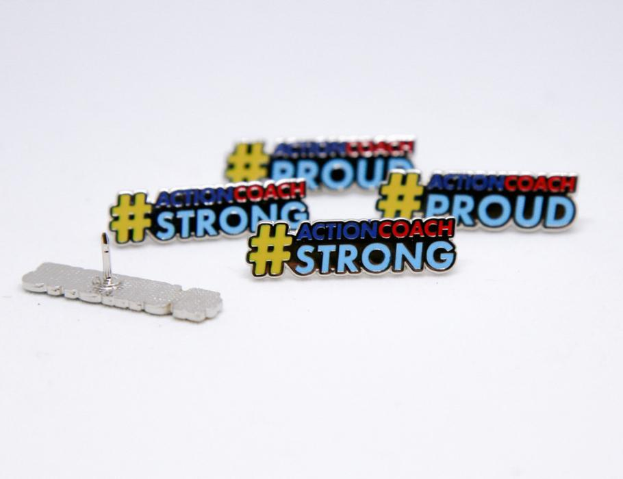 (2 FOR $5) Action Proud & Action Strong Pin SALE!!!