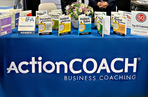 8' ActionCOACH Branded Table Cloth