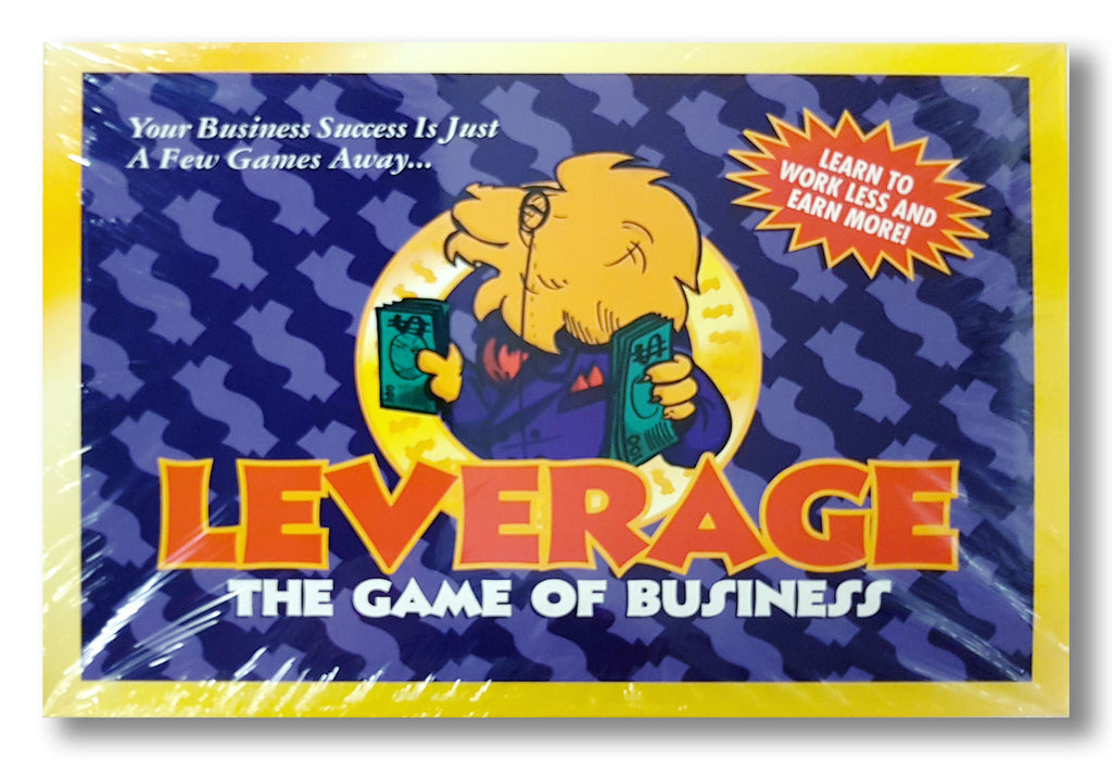 Leverage: The Game of Business SALE!!! (2 FOR $150)