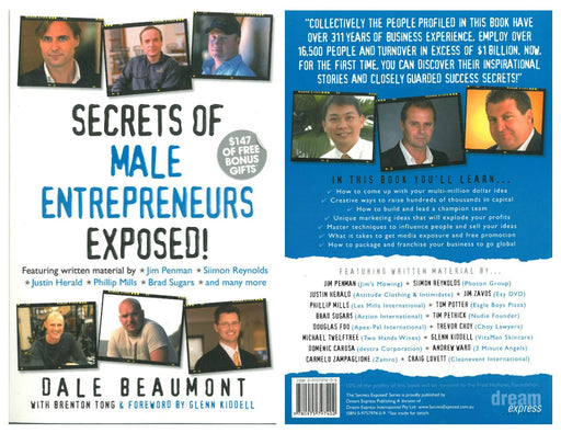 Secrets of Male Entrepreneurs Exposed