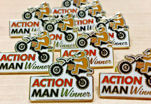 ActionMAN Winner Pin