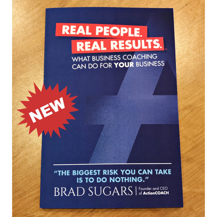 Sets of 10 - Real People. Real Results Book