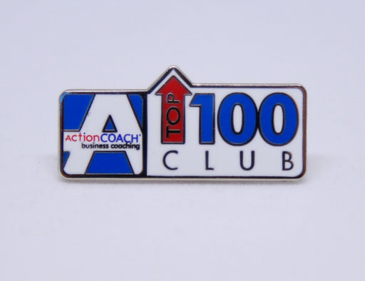 Top 100 Club Pin
