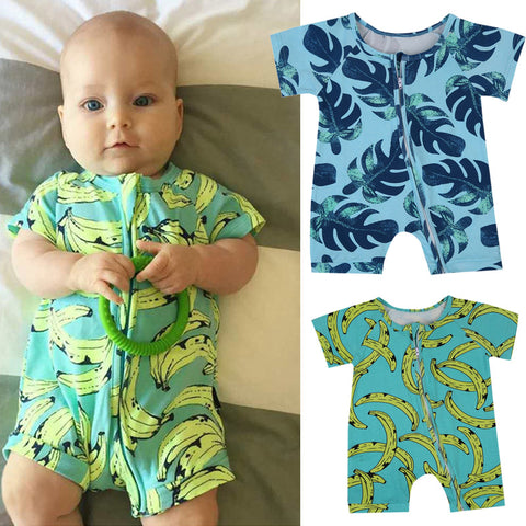Crazy Banana Romper - Present Baby | clothes, rompers, bibs, shoes, blankets, dresses & more
