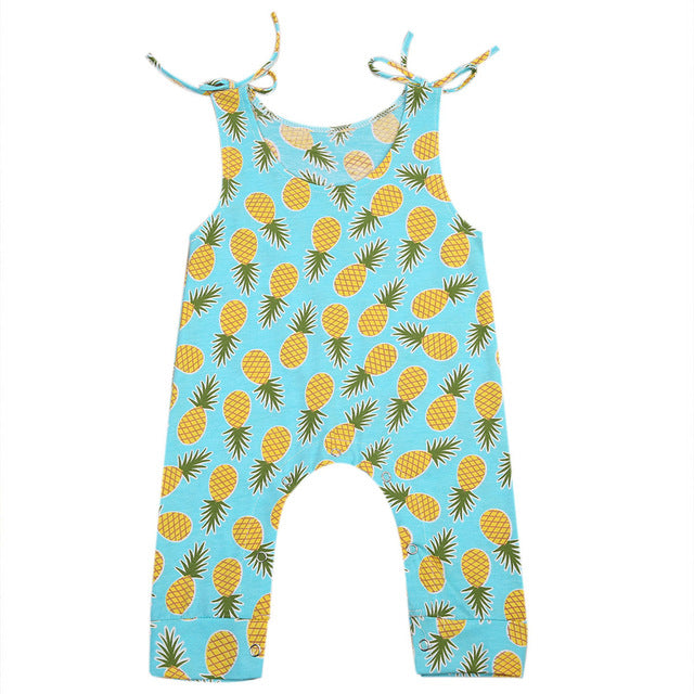 Tropical Pineapple Romper - Present Baby | clothes, rompers, bibs, shoes, blankets, dresses & more