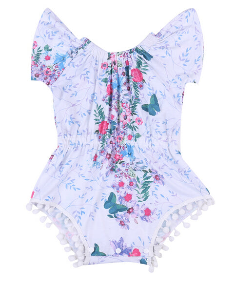 Dreamy Butterfly Romper - Present Baby | clothes, rompers, bibs, shoes, blankets, dresses & more