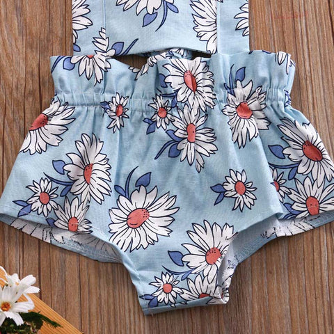 Sunflower Kiss Romper - Present Baby | clothes, rompers, bibs, shoes, blankets, dresses & more