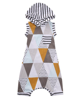 Triangle Aztec Romper - Present Baby | clothes, rompers, bibs, shoes, blankets, dresses & more
