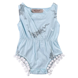 Elegant Puff Baby Romper - Present Baby | clothes, rompers, bibs, shoes, blankets, dresses & more