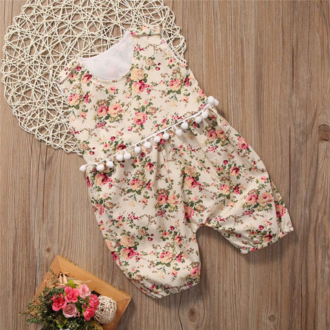 Floral Bloom Romper - Present Baby | clothes, rompers, bibs, shoes, blankets, dresses & more