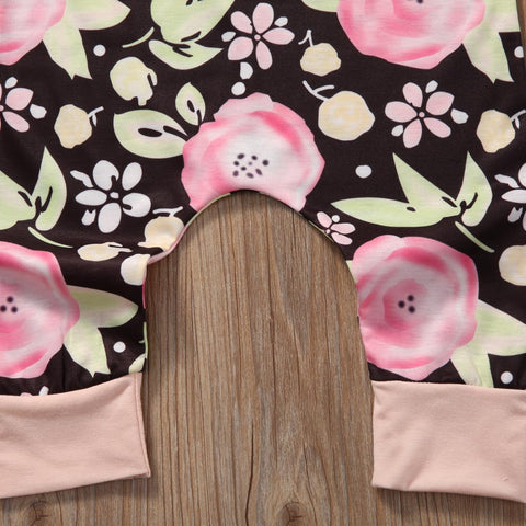Mint Pink Garden Romper - Present Baby | clothes, rompers, bibs, shoes, blankets, dresses & more