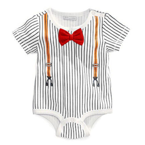 Gentleman Baby Romper - Present Baby | clothes, rompers, bibs, shoes, blankets, dresses & more