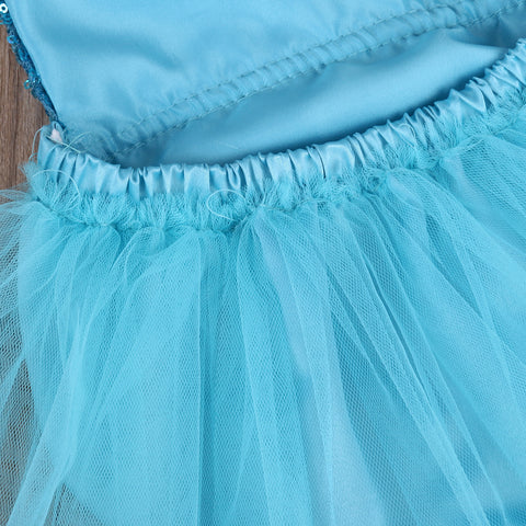 Ocean Sequin Tulle Skirt Romper - Present Baby | clothes, rompers, bibs, shoes, blankets, dresses & more