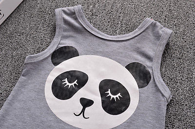 Baby Panda Romper - Present Baby | clothes, rompers, bibs, shoes, blankets, dresses & more