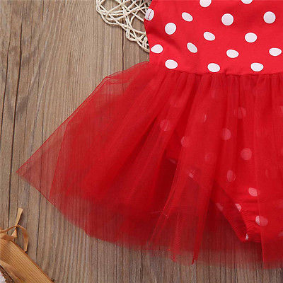 Red Polka Fairy Romper - Present Baby | clothes, rompers, bibs, shoes, blankets, dresses & more