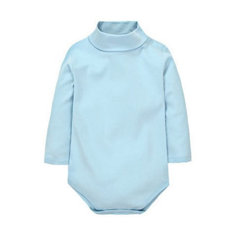 Turtle Neck Romper - Present Baby | clothes, rompers, bibs, shoes, blankets, dresses & more