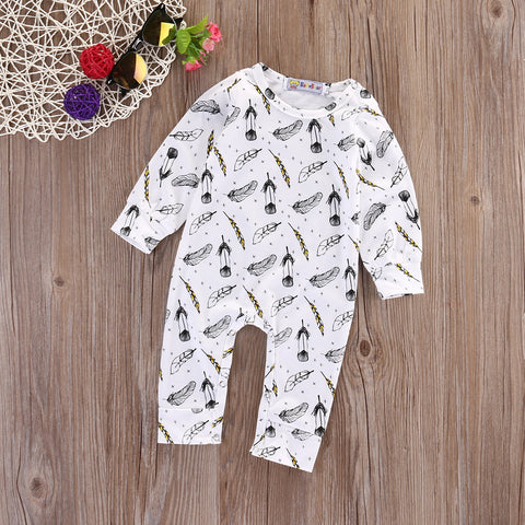 Feather Soft Romper - Present Baby | clothes, rompers, bibs, shoes, blankets, dresses & more