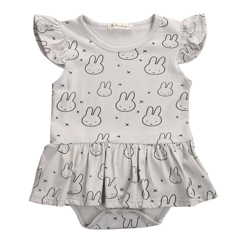 Chubby Bunny Romper - Present Baby | clothes, rompers, bibs, shoes, blankets, dresses & more