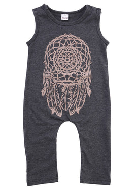 Dream Catcher Romper - Present Baby | clothes, rompers, bibs, shoes, blankets, dresses & more