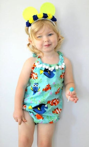 Finding Nemo Baby Romper - Present Baby | clothes, rompers, bibs, shoes, blankets, dresses & more