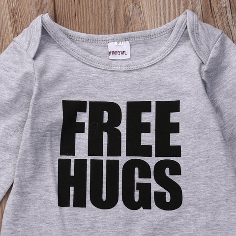 Free Hugs Romper - Present Baby | clothes, rompers, bibs, shoes, blankets, dresses & more