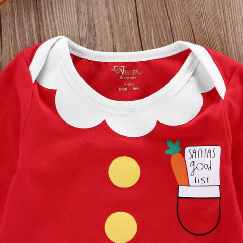 Christmas Fancy Newborn Baby Boys Girl Xmas Warm Long Sleeve Romper Jumpsuit Outfits Clothes 0-18M - Present Baby | clothes, rompers, bibs, shoes, blankets, dresses & more