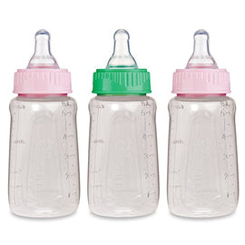 3 Pack - Gerber First Essentials Clear View Bottle, Slow Flow, 5oz - Present Baby | clothes, rompers, bibs, shoes, blankets, dresses & more