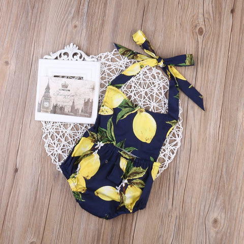 Lemonade Romper - Present Baby | clothes, rompers, bibs, shoes, blankets, dresses & more