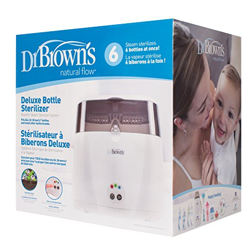 Dr Browns Deluxe Bottle Sterilizer Present Baby